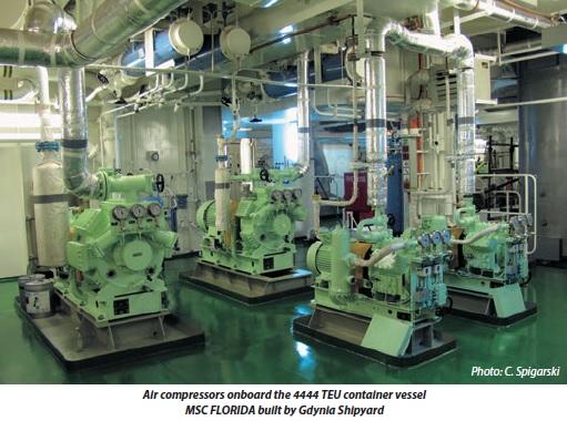 Air Compressor Arrangement Amp Use Of Compressed Air For